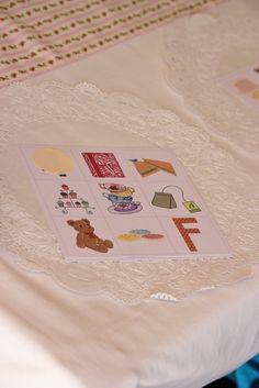 I'm a Little Teapot activity---Tea party bingo