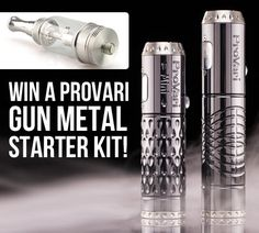 Win a ProVari Gun Metal Starter Kit Sweepstakes