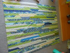 Patchwork Playground: Jelly Roll Quilt - The Math, Calculations