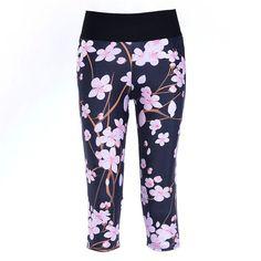 Cherry Blossoms - Capris