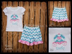 Personalized and Customized Girl's Boutique by KinleasKloset, $36.50
