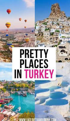 Best Places To Visit In Turkey! Looking for the most beautiful cities to explore in Turkey? Look no further. turkey, Best Places To Visit In Turkey : 10 Cities Worth Seeing Most Beautiful Cities, Beautiful Places To Visit, Cool Places To Visit, Best Places To Travel, Backpacking Europe, Greece Travel, Asia Travel, Travel Info, Travel Tips