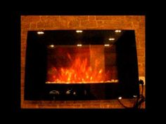 Buy Wall Mounted Electric Fires Online: Wall mounted electric fire of flat shape up for sale at mere prices