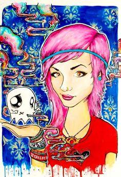 GT- Dreamer art by Alistor Dippner. I want an original sooooo badly!!!!