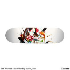 The Warrior skateboard - Supreme Hard-Rock Maple Deck Custom Boards By Talented Fashion & Graphic Designers - #skating #skater #skateboarding #shopping #bargain #sale #stylish #cool #graphicdesign #trendy #design #designer #graphicdesigner #style