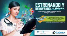 Estrenando y Renovando con Gratamira  El lugar ideal para cambiar tus elementos tecnológicos en este 2014..