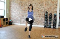 Work your #abs and core without crunches with this short standing routine from @Coach Nicole