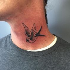 Deep Meaning of a Sparrow Tattoo by InkDoneRight In today's article, let's talk all about the deep meaning behind the sparrow, and show off a huge sparrow tattoo gallery!