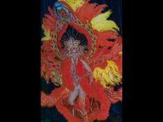 Fire - carnival costume