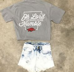 Oh, Lord Razorback Tee {Gray}                                                                                                                                                                                 More