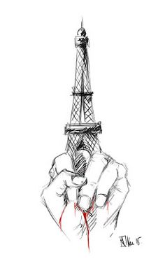 See related links to what you are looking for. Illustration Parisienne, Paris Illustration, Illustrations, Attentat Paris, Pray For Paris, Paris 13, Drawing Expressions, Draw Something, Tour Eiffel