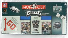New 2003 Philadelphia Eagles Collector's Edition Monopoly Factory Sealed NFL #Usaopoly