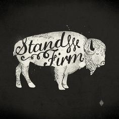 Stand Firm Art Print by Landon Sheely