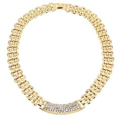 Rhinestones Chokers Chain Chunky //Price: $23.75 & FREE Shipping //     #jewelry  visit our shop @ www.estilistan.com