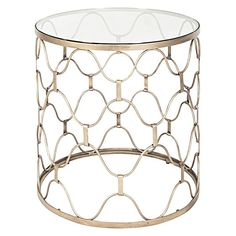 Industria Uovo Side Table by GLOBE WEST