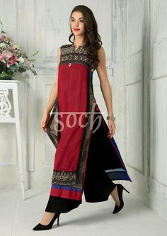 Kurti with prints mix and match Indian Fashion Dresses, Indian Designer Outfits, Indian Outfits, Designer Dresses, Women's Summer Fashion, Boho Fashion, Fashion Outfits, Womens Fashion, Mein Style
