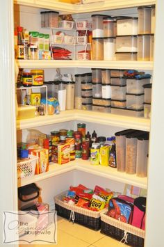 Read the whole post. I'm quite certain the author is from Britain and I can just hear her English accent. Note: people become tupperware reps just to organize their pantry?!?!