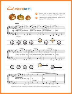 Free download editable recital program templates music class free halloween sheet music for the kiddos in your piano studio teach piano today pronofoot35fo Image collections