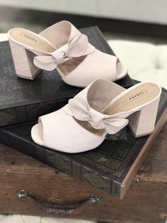 8276826a83b6 This light pink mules are so elegant aren t they not  What would you
