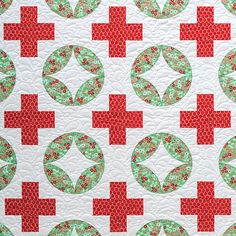 Meadow Mist Designs: Day 6++ Modern Plus Sign Quilts Book Hop ++ Faceted Rings and Petal Plus
