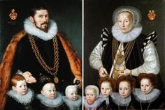 1598 Geldorp Gortzius - Sigismund von und zum Pütz, Catharina Broelman and their…