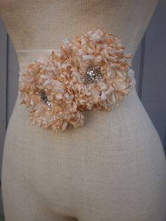 A personal favorite from my Etsy shop https://www.etsy.com/listing/127953815/wedding-sash-wedding-belt-wedding