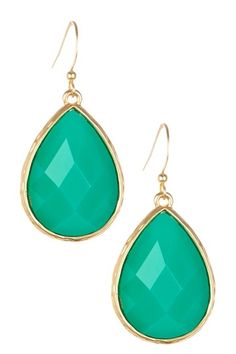 Lexi Oval Earrings by Fall Accents: Colorful Jewelry on @HauteLook