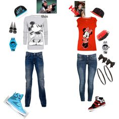 polyvore+outfits+for+couples | Outfit for couple - Polyvore  sc 1 st  Pinterest : couple costumes for teens  - Germanpascual.Com