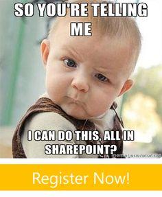 [Webcast] How to Set Up a Program Portfolio for an Executive Team in SharePoint! https://attendee.gotowebinar.com/register/327505290249184513