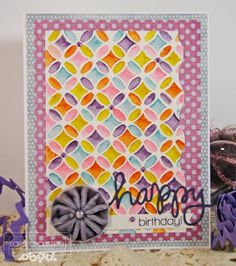 Quilted Watercolor!