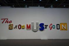 Jack Pierson Artist Installation The Show Must Go On Cheim  Read Gallery New York Unlimited Exhibition Platform Art Basel Switzerland