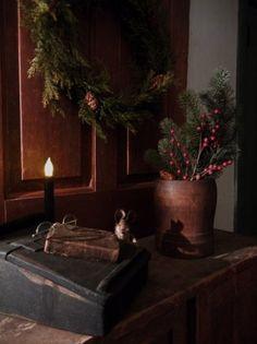 Primitive Christmas........love.... by loretta