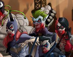 Gotham vampires? WIP by El-Mono-Cromatico