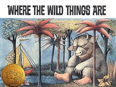 Mini-Lizz the Librarian: Book Review: Where the Wild Things Are