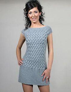 Modelos de vestidos tejidos