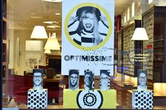 Vitrine Opticiens Maurice Frères - septembre 2016 : Optimissime ! #opticiens…