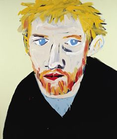 Winner of the Archibald Prize for Portraiture 2000. Adam Cullen Portrait of David Wenham 2000, acrylic on canvas, private collection. Images courtesy Yuill/Crowley, Sydney. © Adam Cullen