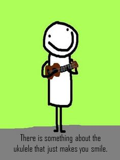 There's just something about ukulele that makes me smile :)