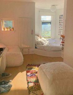 Room Ideas Bedroom, Bedroom Decor, Bedroom Inspo, Bedroom Curtains, Modern Bedroom, Cute Room Decor, Study Room Decor, Wall Decor, Pretty Room