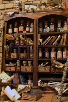 Encontrar un solo ingrediente en la tienda de la Vieja Sofía requiere mucha paciencia. Personajes de #Horizonte