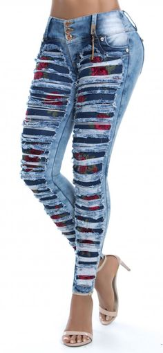 women jeans curvy -- CLICK VISIT above for more options Lace Jeans, Sexy Jeans, Cut Jeans, Jeans Style, Outfit Jeans, Jeans Dress, Pants, Jean Moda, Beautiful Outfits