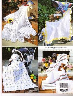 Vintage 'Huggy Snuggy baby afghans' Crochet pattern