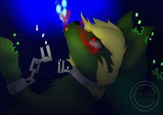 'Drowning' BEN Drowned (wolf) Creepypasta