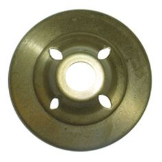 """3 1/2"""" Brass Vented Vase Cap for Stained Glass Lamp Shades and Repair ~ $4.50"""