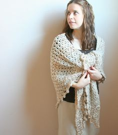 DIGITAL PATTERN:Crochet Shawl PATTERN,Crochet Wrap Pattern,Crochet Wrap Shawl,Crochet Shawl Wrap,Triangle Shawl Pattern,Beige Shawl