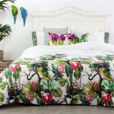 88 simple tropical caribbean bedroom decor ideas (64)