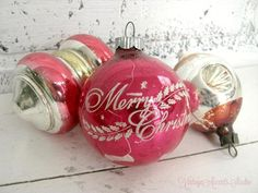 Your place to buy and sell all things handmade Vintage Home Decor, Christmas Tree Ornaments, Vintage Christmas, Objects, Studio, Holiday Decor, Awesome, Handmade, Etsy