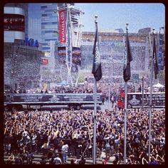 250,000+ swarm L.A. LIVE