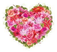 Lenagold - Клипарт - Розовые сердечки 2