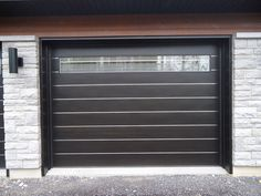 modern garage door | modern zen contemporary style wood garage door 237